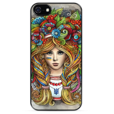 Чехол для iPhone Украинка
