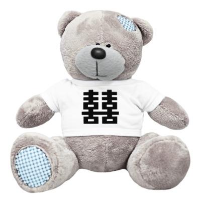 Плюшевый мишка Тедди Двойное счастье