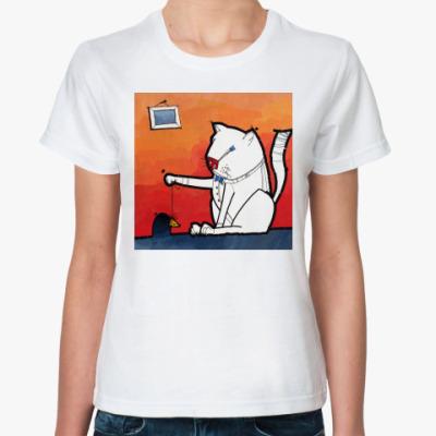Классическая футболка CAT