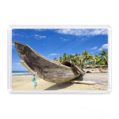Магнит  - Лодка у моря (Гаваи)