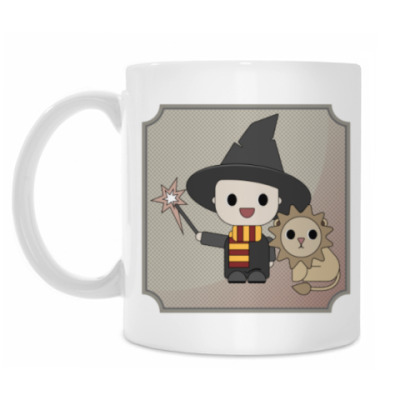 Кружка Little wizard and his pet