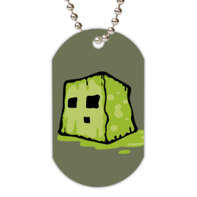 Жетон dog-tag  Slime