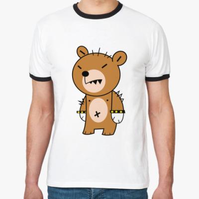 Футболка Ringer-T Крутой медведь