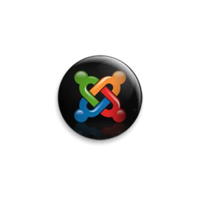 Значок 25мм Joomla! Logo