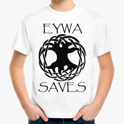 Детская футболка Eywa saves