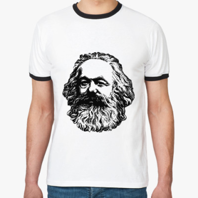 Футболка Ringer-T    Карл Маркс