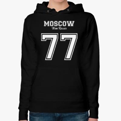Женская толстовка худи Москва