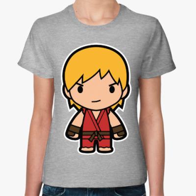 Женская футболка Ken (Street Fighter)