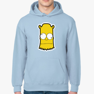 Толстовка худи Crazy Bart