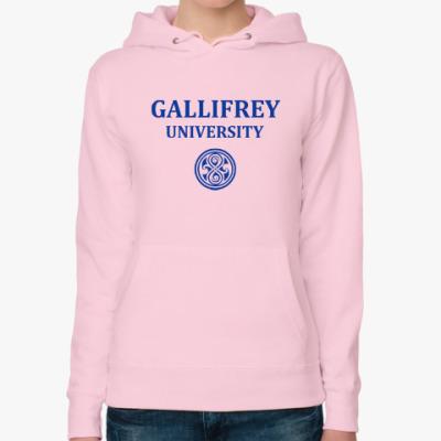 Женская толстовка худи Gallifrey University
