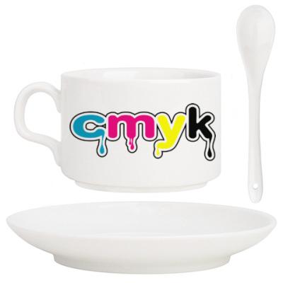 Кофейный набор CMYK