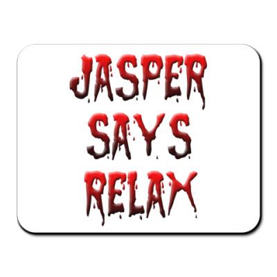 Коврик для мыши Jasper says relax