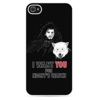 Чехол для iPhone Жду тебя в ночном дозоре