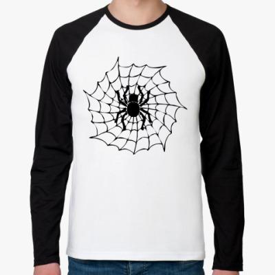 Футболка реглан с длинным рукавом Spider