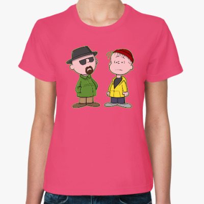 Женская футболка Walter & Jesse