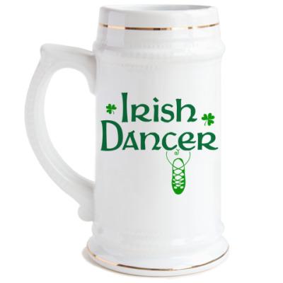 Пивная кружка Irish dancer
