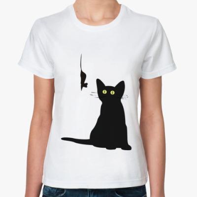 Классическая футболка ~ Охотник ~ Женск. футболка