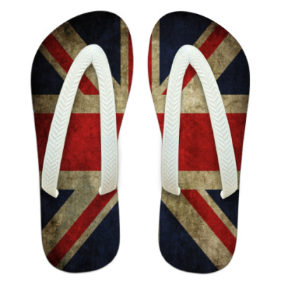 Шлепанцы (сланцы) Британский флаг