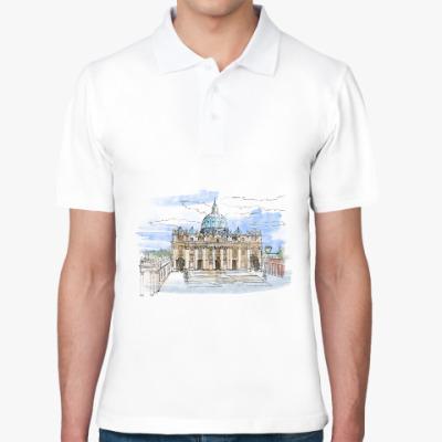 Рубашка поло Ватикан - Собор Святого Петра