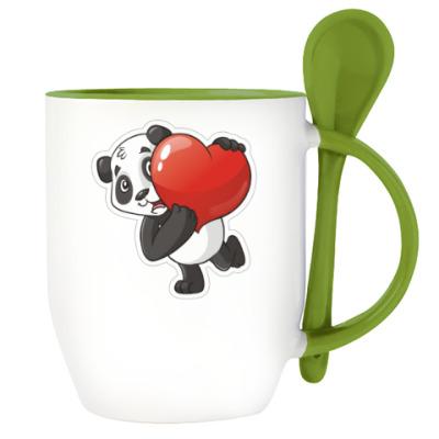 ДругВокруг Панда с Серцем