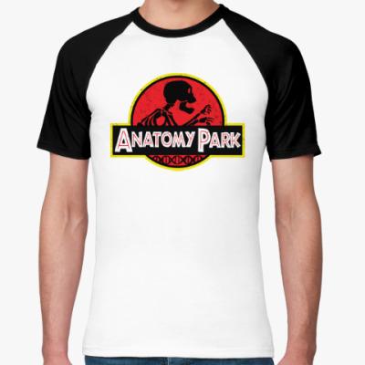 Футболка реглан Anatomy Park