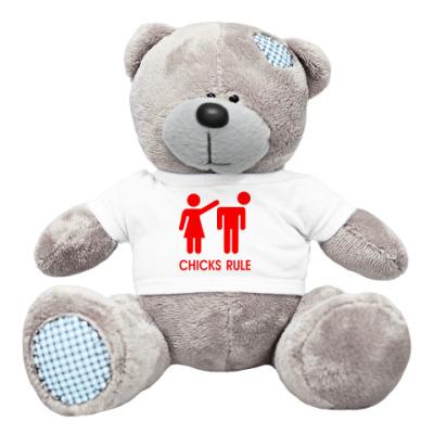 Плюшевый мишка Тедди Chicks Rule