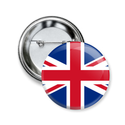 Значок 50мм Великобритания