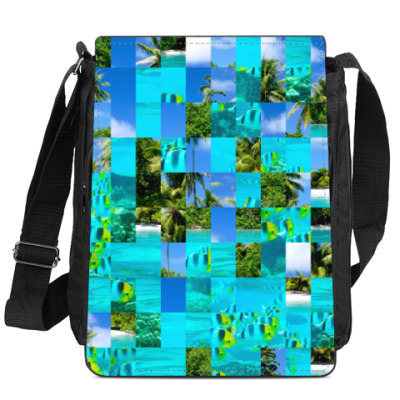Сумка-планшет тропики