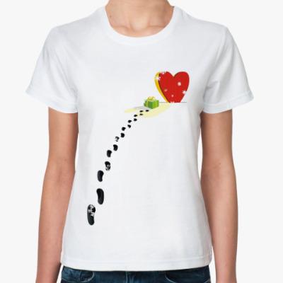 Классическая футболка Порадок от сердца