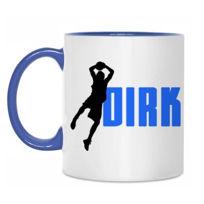 Кружка Dirk - Dallas Mavericks