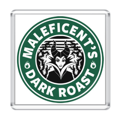 Магнит Maleficents Dark Roast
