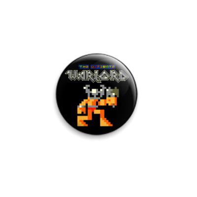 Значок 25мм  Pixelart Warlord