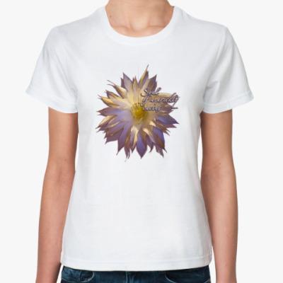 Классическая футболка Душа Кактуса
