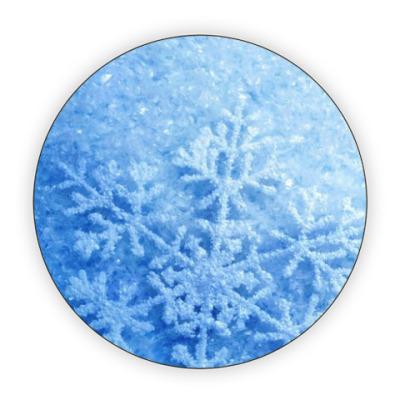 Костер (подставка под кружку) Снежная мания