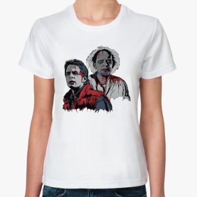 Классическая футболка Back to the dead