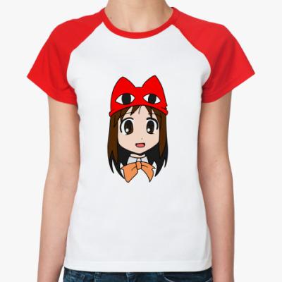 Женская футболка реглан Осака