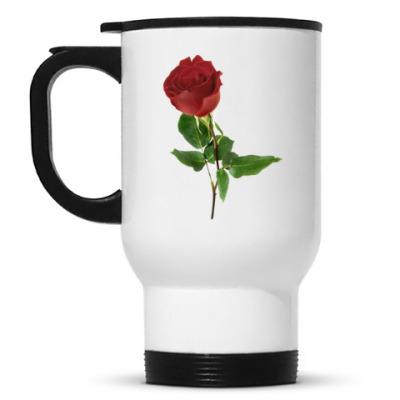 Кружка-термос Роза