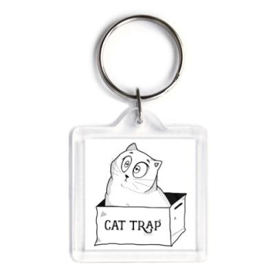 Брелок Ловушка для кота