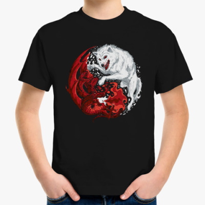 Детская футболка Огонь и лед