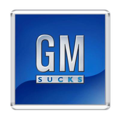 Магнит  GM sucks