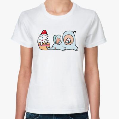 Классическая футболка  Сытый Тфлон (female)