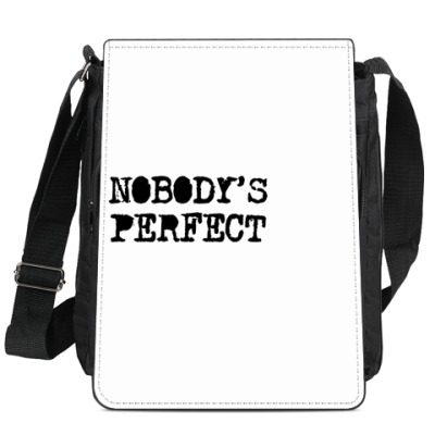 Сумка-планшет Надпись Nobody's perfect