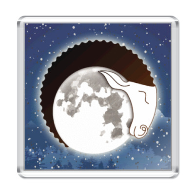 Магнит Лунный Баран