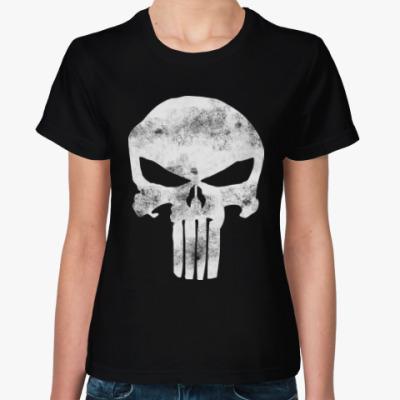 Женская футболка Каратель