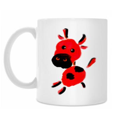 Кружка 'Красная корова'