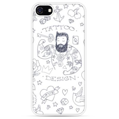 Чехол для iPhone Tattooed man