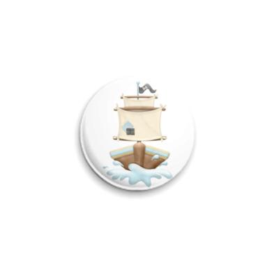Значок 25мм Морская коллекция