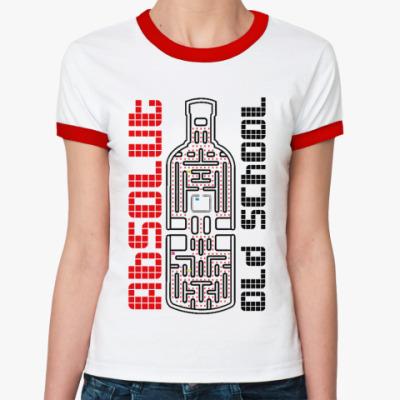 Женская футболка Ringer-T Absolut ж()