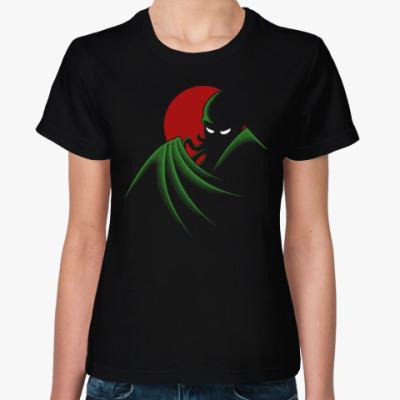 Женская футболка Cthulhu Batman