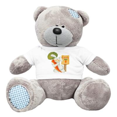 Плюшевый мишка Тедди Carrots - туда!